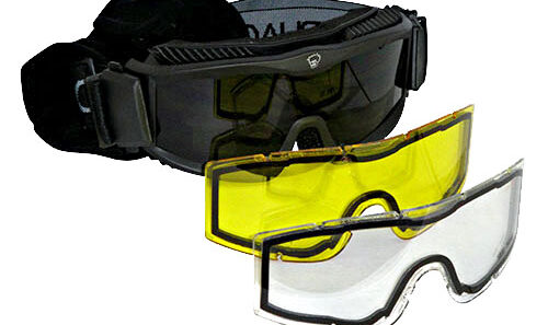Recon Black goggles